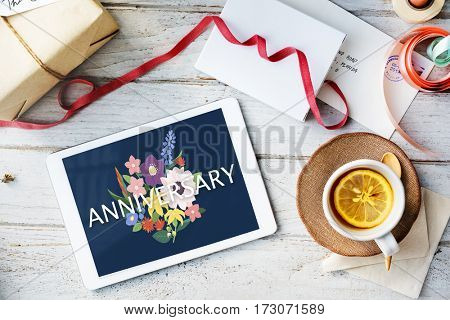 Anniversary Gratitude Honored Thankful Blessed