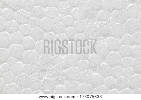 High Quality Close Up Picture Of White Polystyrene Foam.