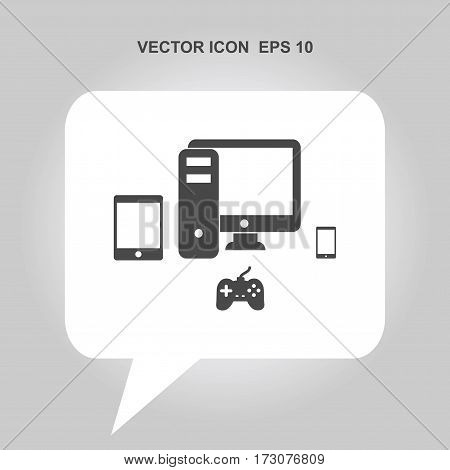 smartphone tablet computer game console Icon, smartphone tablet computer game console Icon Eps10, smartphone tablet computer game console Icon Vector, smartphone tablet computer game console Icon Eps