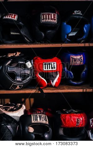 Boxing Helmets