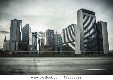 Skyline Of Dallas, Texas
