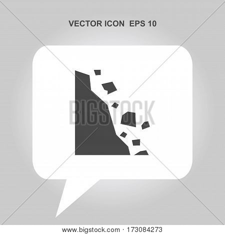 caution falling rocks Icon, caution falling rocks Icon Eps10, caution falling rocks Icon Vector, caution falling rocks Icon Eps, caution falling rocks Icon Jpg, caution falling rocks Icon Picture