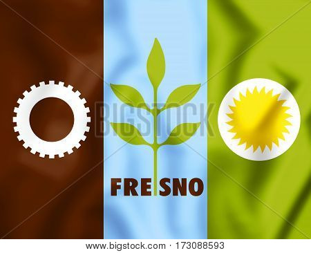 +++flag_of_fresno,_california