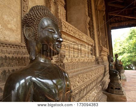 Landmark, Historic temple and buddhism in LAO