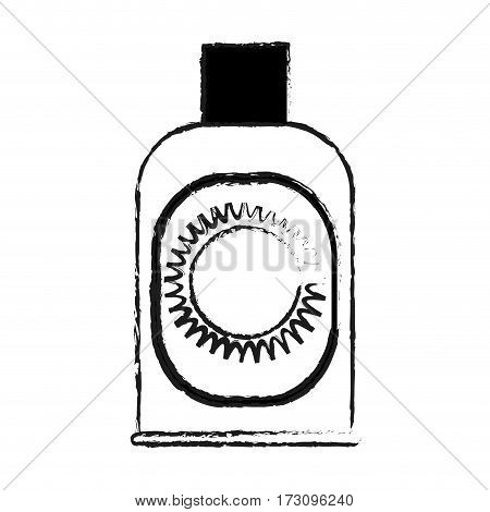 sunblock or sunscreen icon image vector illustration design