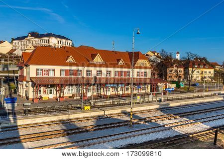 Renovated Railway Station With
