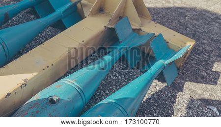 Image Of Aircraft Rocket Bomb