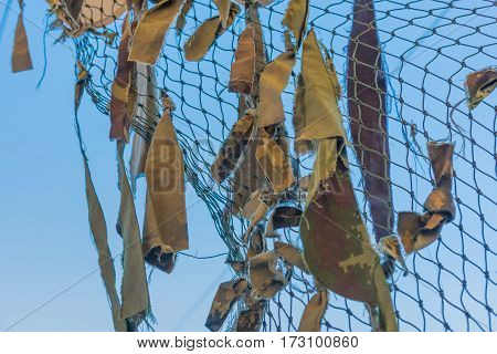 Texture Thailand Military Camouflage Nets