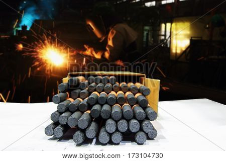Gouging carbon electrode rodsUsed in industrial metal steel