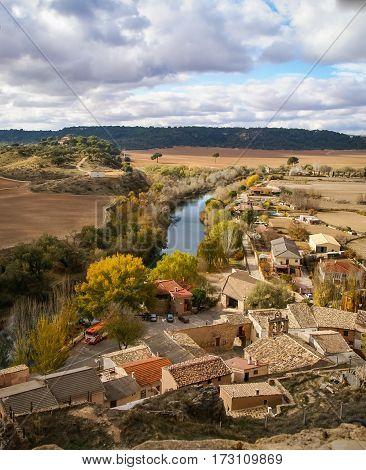 Scenic Landscape, Castilla La Mancha, Spain