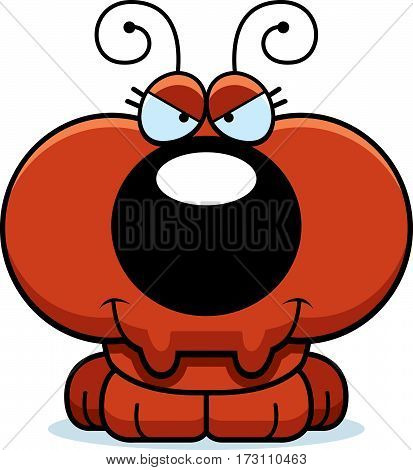 Cartoon Sly Ant