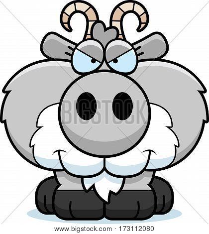 Cartoon Sly Goat