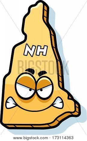 Cartoon Angry New Hampshire
