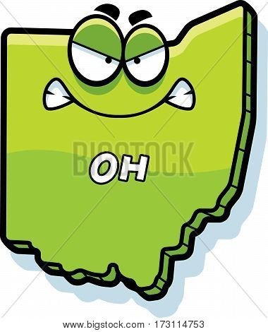 Cartoon Angry Ohio
