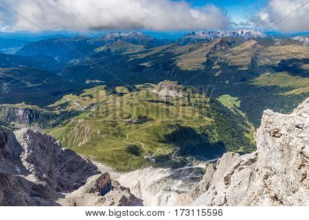 Via Ferrata Colver Lugli - Martino San Di Castrozza Dolomites Italy