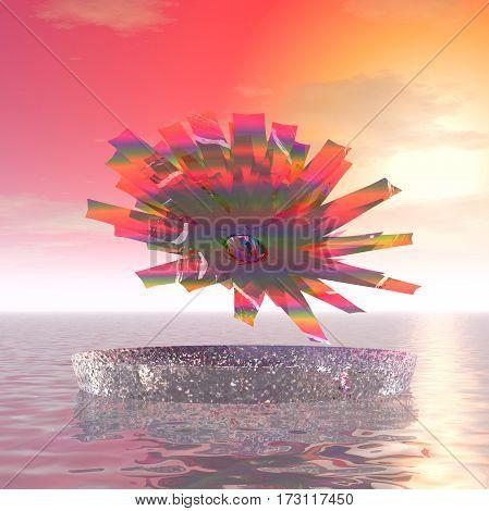 3d illustration: