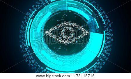 Cyber Eye Watch On You.