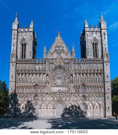 Nidaros Trondheim Cathedral, Norway