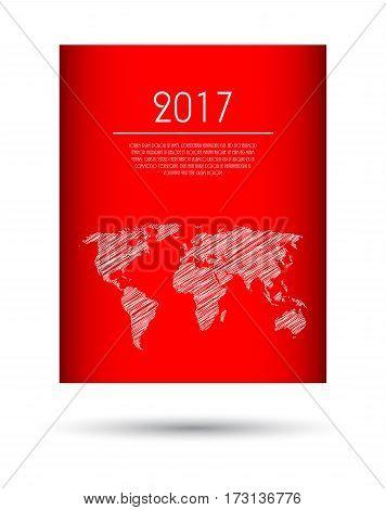 modern vector abstract brochure business flyer design