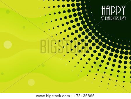 abstract background with Saint Patrick's Day design,  vector illustration, eps10