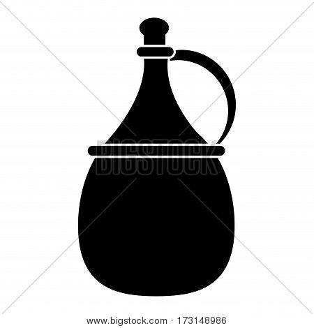 wine carafe cork icon pictogram vector illustration eps 10