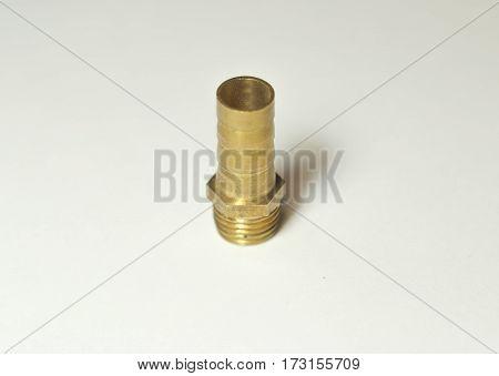Штуцер латунный под шланг с внешней резьбой, с диаметром резьбы 1/4