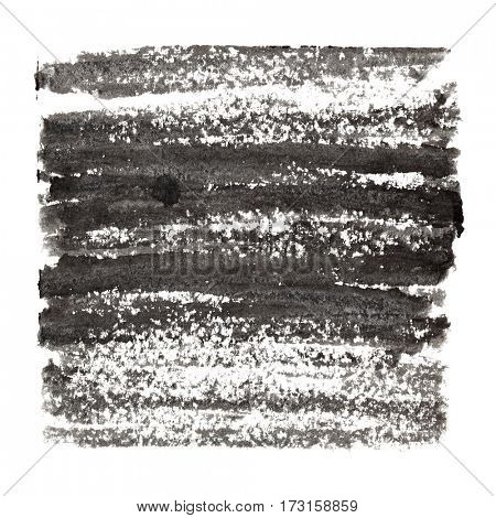 Dark grey abstract background with textured strokes. Space for your own text. Raster illustration