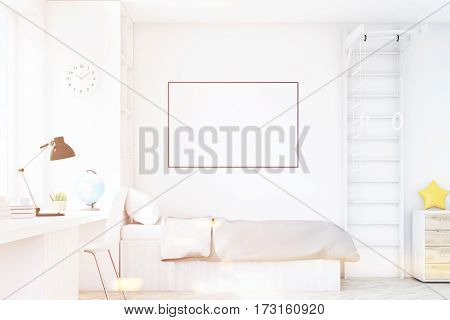 Close Up Of Child Room With A Table, Toned