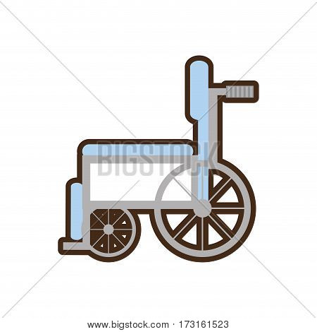 wheelchair handicap medical symbol vector illustration esp 10