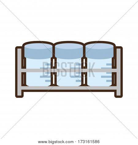 urine sample container set vector illustration eps 10