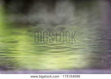 Abstract Soft Focus Water Reflections
