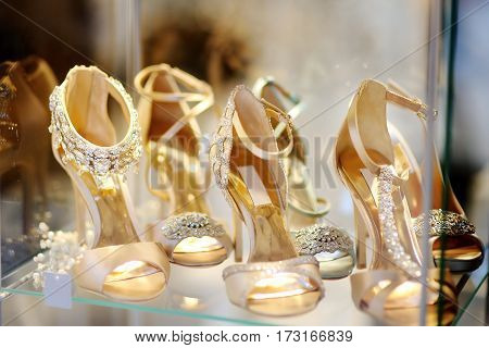Bridal Or Ballroom Dance Shoes
