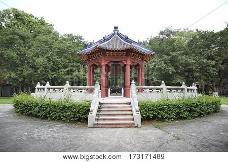 China pavilion building park