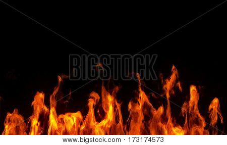 Realistic Fire Flames Burn Movement Frame