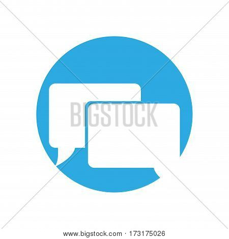 bubble speech communication  icon vector illustration eps 10