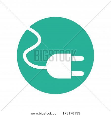 cable plug environment design vector illustration eps 10