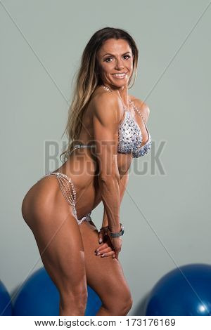 Mature Woman Showing Her Well Trained Body