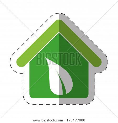 environment house recycling icon vector illustration eps 10