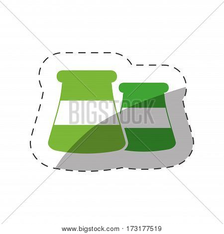 environment nuclear plant power vector illustration eps 10
