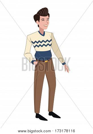 man father family member vector illustration eps 10
