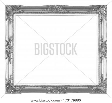 Old Wooden Frame Silver