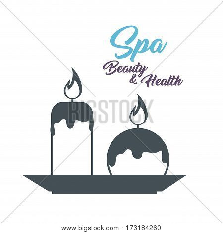 spa beauty and health poster vector illustration design