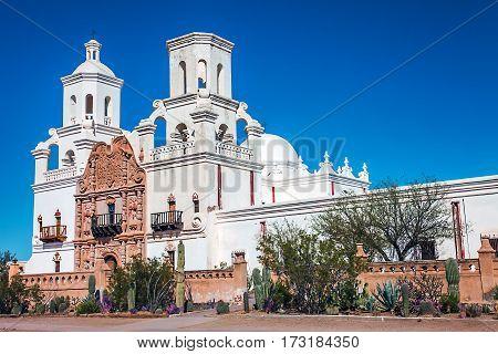 Mission San Xavier del Bac Tucson Arizona United States
