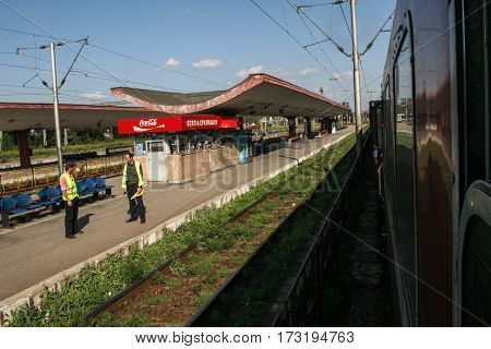 Brasov Train Station