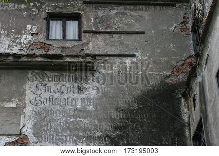 Bran Castle Walls