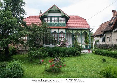 Traditional House In Bran