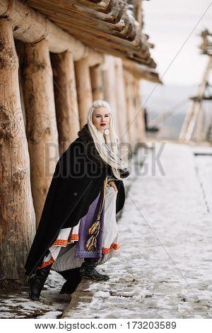 Beautiful Girl Viking