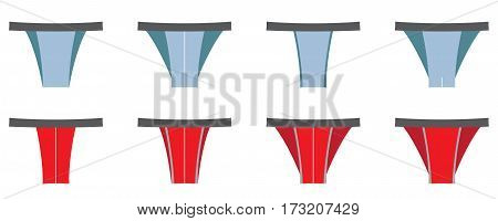 Set Of Thong Men Underwear