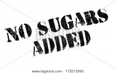 No Sugars Added rubber stamp. Grunge design with dust scratches. Effects can be easily removed for a clean, crisp look. Color is easily changed.