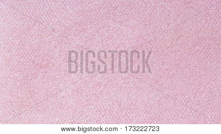 The texture of makeup shades, pink hue.